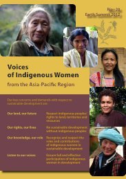 Voices of Indigenous Women Voices of Indigenous Women - iwgia