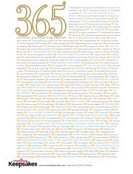 365 DAYS, 365 IDEAS FOR PHOTOS - Creating Keepsakes