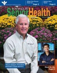 November 2009 - Bon Secours Senior Health