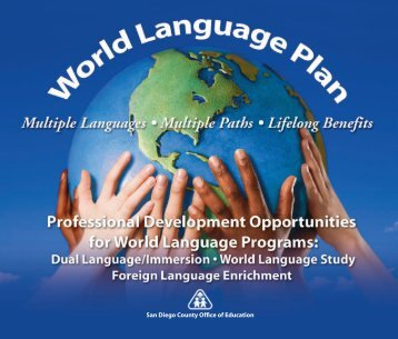 World Language Plan (PDF) - San Diego County Office of Education