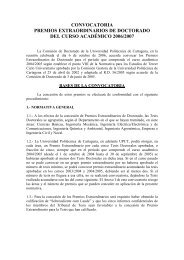 Convocatoria Premio Extraordinario Doctorado 06-07 - Universidad ...