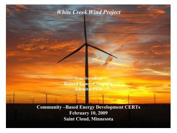 Download Presentation - Clean Energy Resource Teams