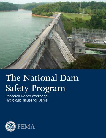 Hydrologic Issues for Dams - Association of State Dam Safety Officials