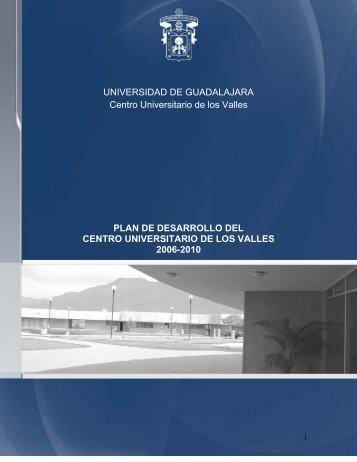 Plan_Desarrollo_cuvalles2007 .pdf - Centro Universitario de los ...