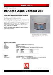 DanAtac Aqua Contact 288 - Dana Lim A/S