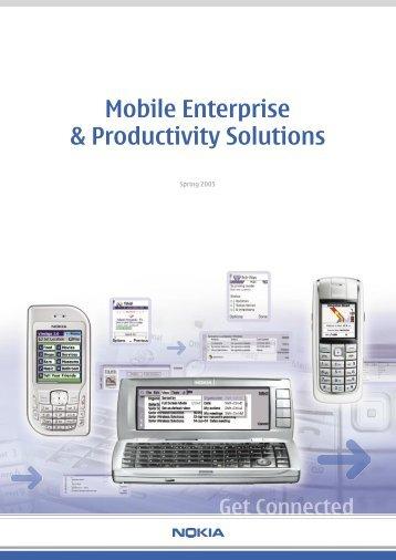Mobile Enterprise & Productivity Solutions