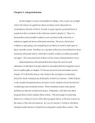 Chapter 3: intepretationism - Oswego