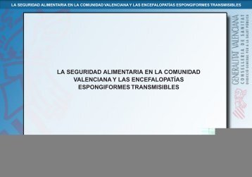 vacas locas.indd - Sociedad Valenciana de Neurología