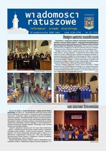 30 pazdziernika 2009.pdf - Cieszyn.pl