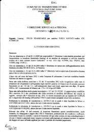 Determina n. 413 - Comune di Tremestieri Etneo