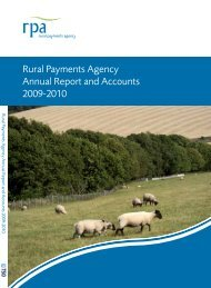 FINAL rpa124 2009-2010 v1.0 .pdf - The Rural Payments Agency ...
