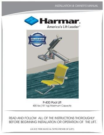 P400 MANUAL 1.cdr - Harmar