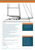 Detailed specification - Catamaran Alibi - Page 3