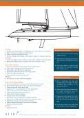 Detailed specification - Catamaran Alibi - Page 4