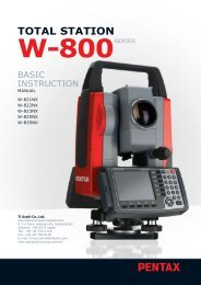 total station w-800 series
