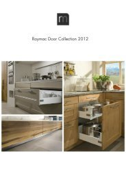 Raymac Door Collection 2012 - Raymac Kitchens