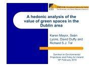 The value of green space (Karen Mayor) - ESRI