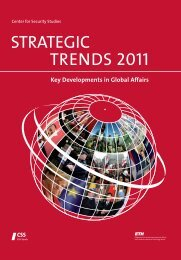 STRATEGIC TRENDS 2011 - Center for Security Studies (CSS)