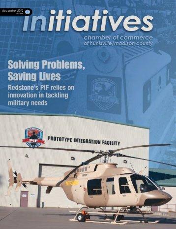 Initiatives December 2012 - Huntsville/Madison County Chamber of ...