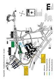 Messeanfahrt · Parkplätze/Route to the Fair · Car parks LKW /trucks ...