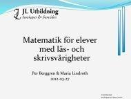 120327 Karlstad Läs och Skriv - Kul Matematik