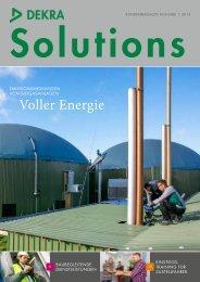 Voller Energie - DEKRA Certification