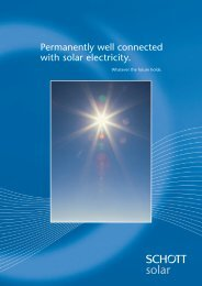 Permanently well connected with solar electricity. - Solarni paneli ...