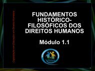 Direitos Humanos - Universidade Federal de Alagoas