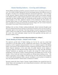 Islamic Banking Industry – Growing amid challenges - Meezan Bank