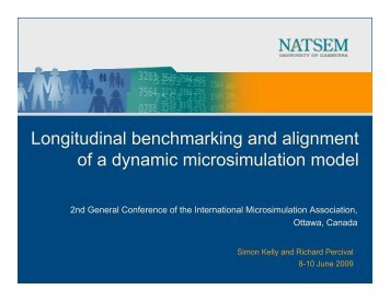 Longitudinal benchmarking and alignment of a dynamic ...