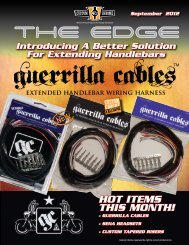 GUERRILLA CABLES XTRA LENGTH EXTENDED HARNESS HARLEY TOURING 07-13