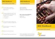 Flyer BKK RiskBoard - BKK-Landesverband NORDWEST