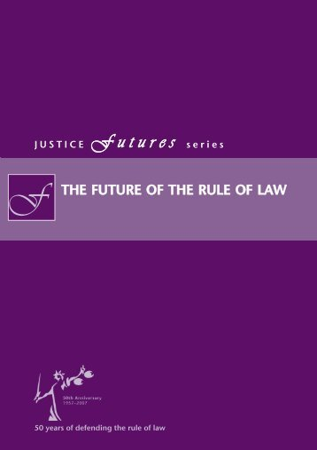 Future of the Rule of Law - OF cover.qxd - Justice