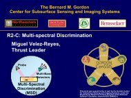 R2C Presentation: Miguel Velez-Reyes - Center for Subsurface ...