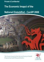 The Economic Imapct of the National Eisteddfod - Cardiff 2008