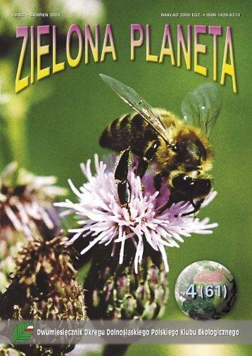 LIPIEC – SIERPIEŃ 2005 NAKŁAD 2000 EGZ. • ISSN 1426-6210