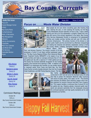 October Newsletter.pub - Bay County Online