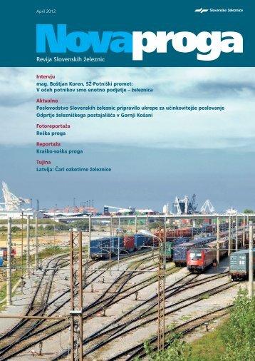 April (.pdf, 9 MB) - Slovenske železnice