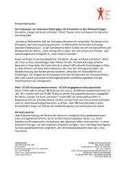Weihnachten 2012 (PDF, 134 KB) - Hunger auf Kunst und Kultur