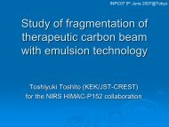 Study of fragmentation of therapeutic carbon beams with emulsion
