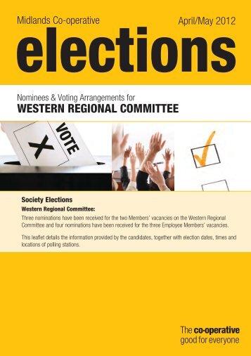 nominees and voting arrangements in Western region - Midlands Co ...