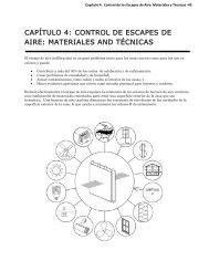 CAPÍTULO 4: CONTROL DE ESCAPES DE AIRE: MATERIALES ...