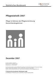 Pflegestatistik 2007 - AWO Angebote für Senioren in Oberbayern