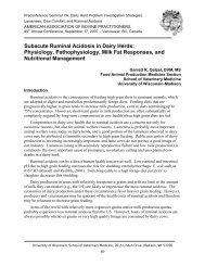 Subacute Ruminal Acidosis in Dairy Herds - University of Wisconsin ...