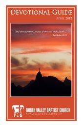 Download / Print - North Valley Baptist Church