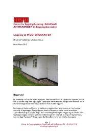 Lægning af PIGSTENSKANTER - Center for Bygningsbevaring