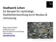 15-WS 5 Prsentation Stadtwerk Lehen_Untner.pdf - Tagung Soziale ...