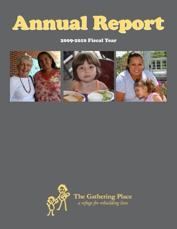 2009-2010 Fiscal Year - The Gathering Place
