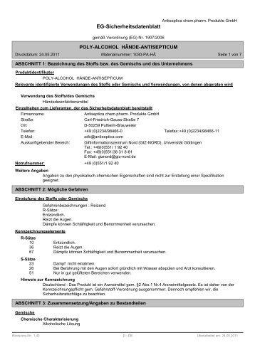 Poly-Alcohol - PICO-Medical GmbH