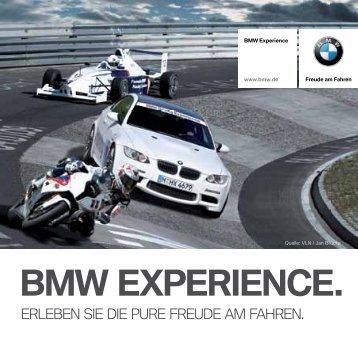 BMW EXPERIENCE.